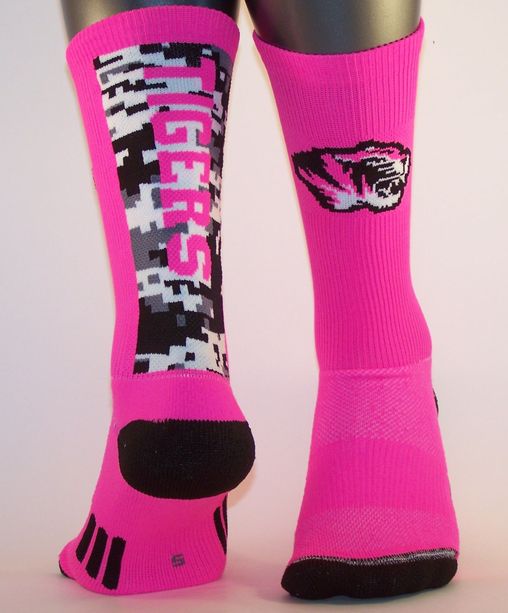 Pink Out Socks For October Get Your Custom Pink Socks For Your