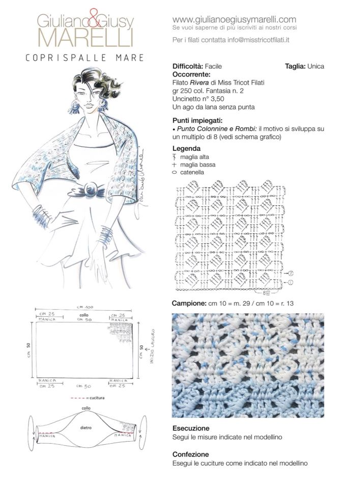Pin de Cinzia Lorenzi en maglia   Pinterest   Chal, Tejido y Boleros