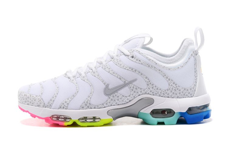 Nike Air Max TN Plus Ultra White Rainbow Sole Women Men