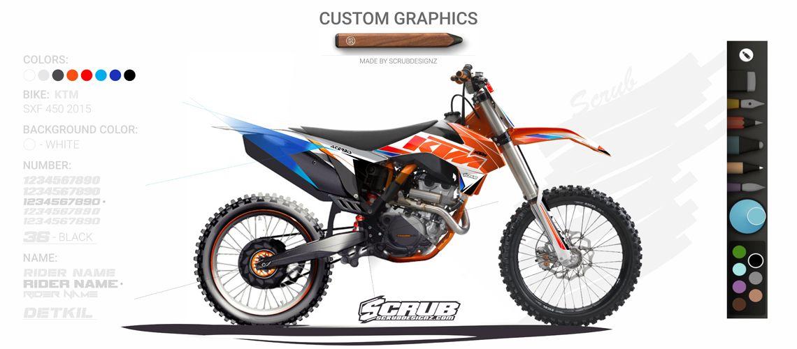 Scrubdesignz Custom Graphics Motos Pinterest Dirt Biking And