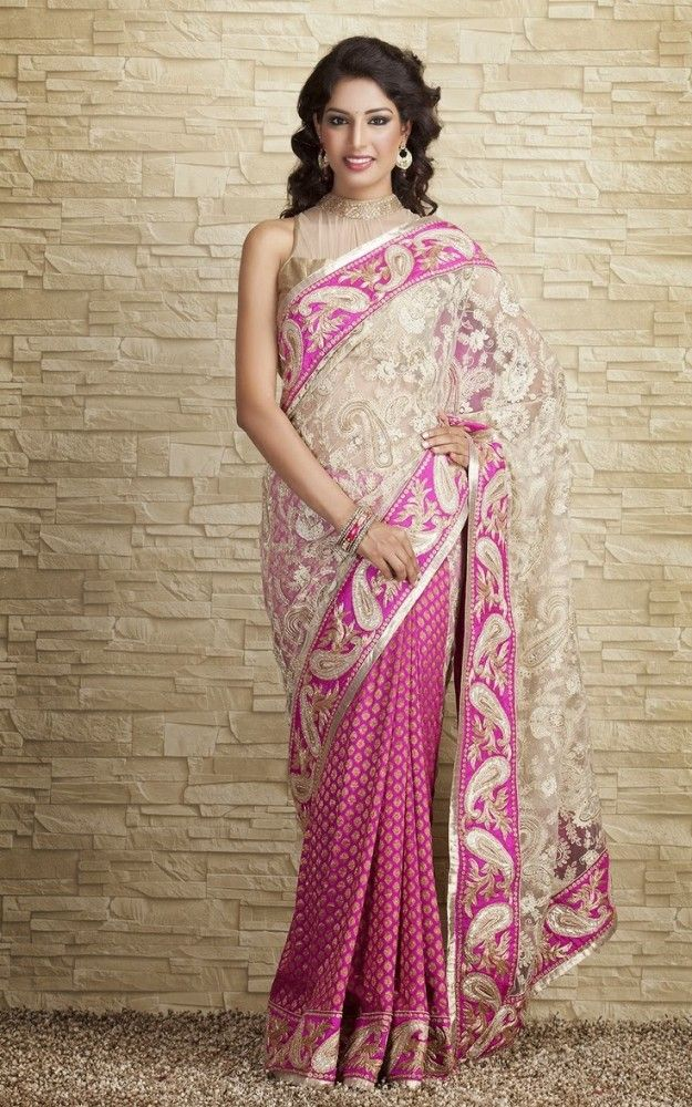Indian-Designers-Beautiful-Bridal-Wedding-Saree-dress ...