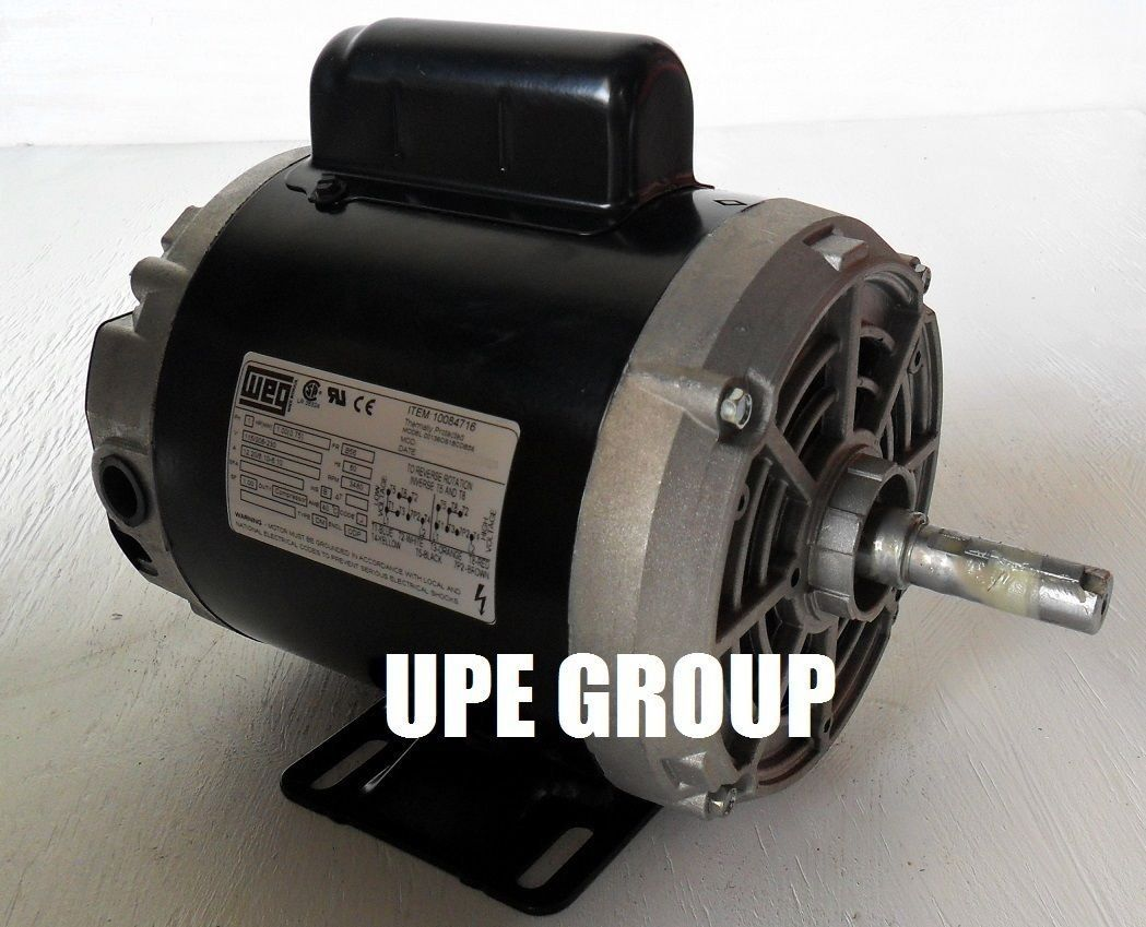 New Weg 1hp Electric Motor Fan Pump 56 Frame 3480 Rpm 1 Phase 115 230 Volt Check Out This Great Product Electric Motor Frame Electricity