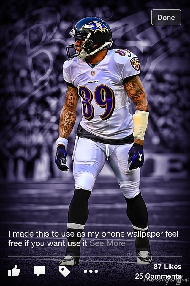 Steve Smith Sr Steve Smith Sr 89 Baltimore Ravens