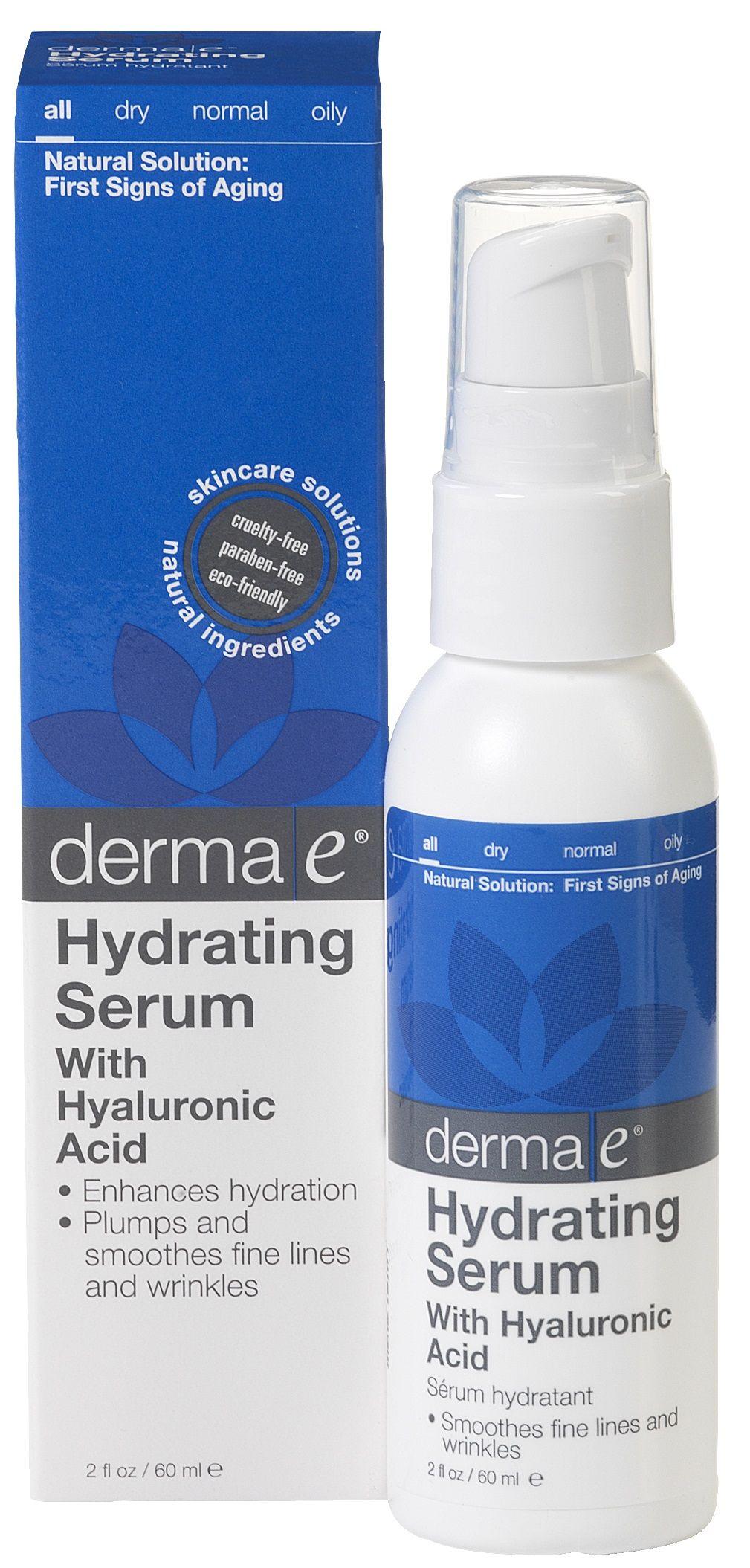 Derma E Hydrating Serum  Hydrating serum Hyaluronic acid and Serum