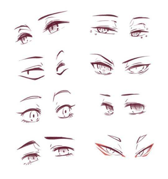 12 erstaunlich lernen Augen Ideen zu zeichnen # ...