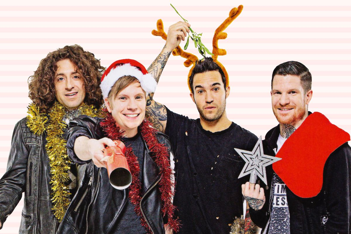 Image Result For Fall Out Boy Christmas Desktop Wallpaper Fall