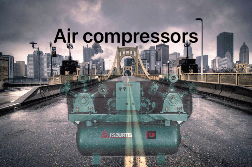FSCURTIS rotary screw compressor. Future of rotary screws