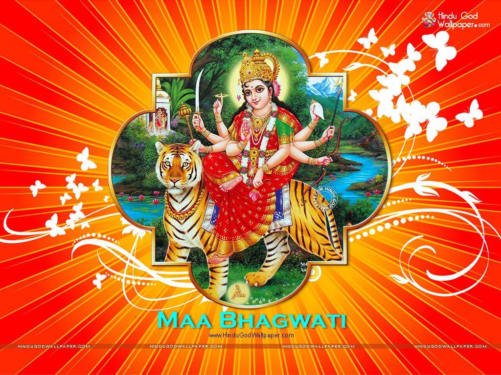 Wallpaper download karna hai - Maa Bhagwati Wallpapers Photos Images Download