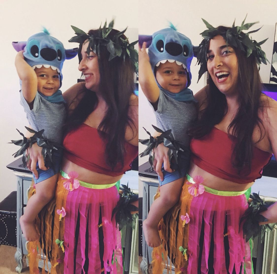 Halloween Costume Boy Costume Mother And Son Costume Lilo And Stitch Cu Mommy Baby Halloween Costumes Mother Son Halloween Costumes Baby Halloween Costumes
