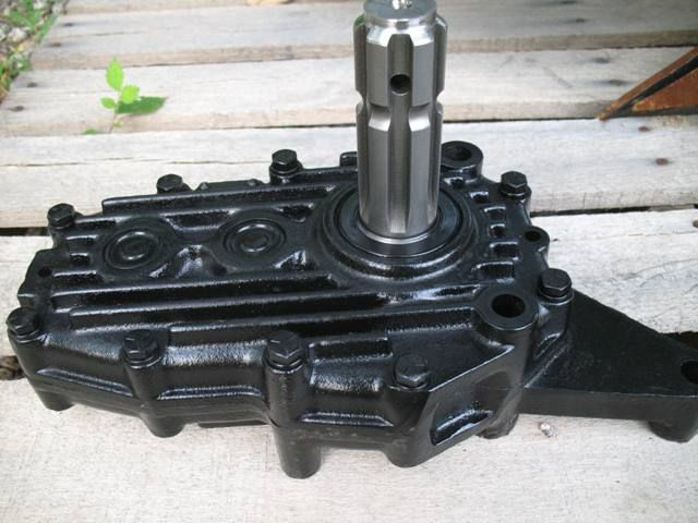 Lawn Tractor With Rear Pto : Jd rear pto changed from rpm to john
