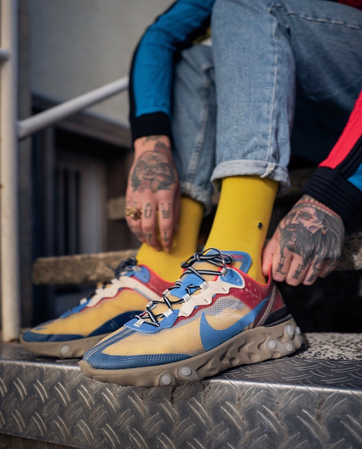 Undercover x Nike React Element 87  3dde4f0a8