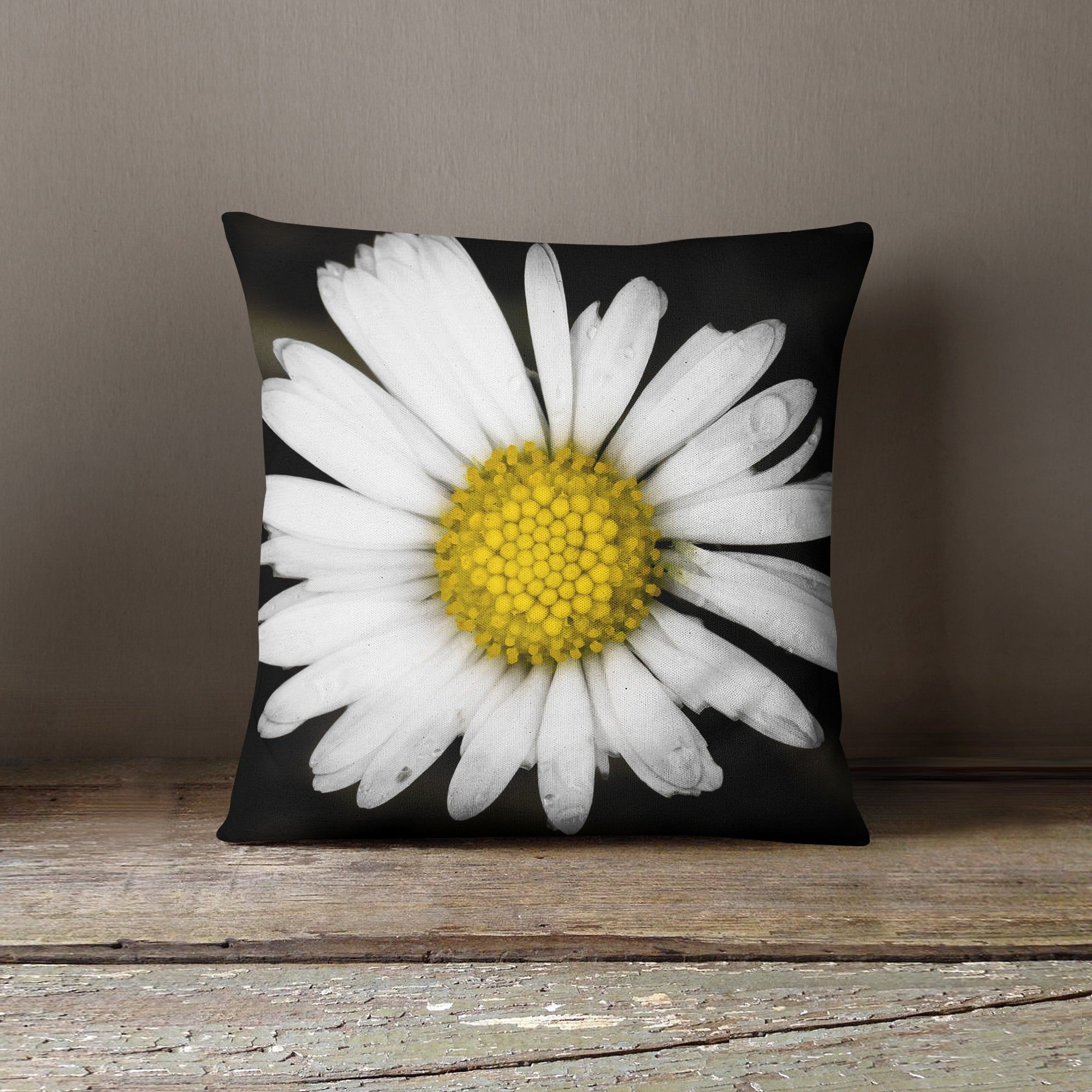 Daisy Pillow Cover Sofa Pillow Covers Daisy Pillow Case Etsy Sofa Pillow Covers Daisy Pillows Pillow Covers