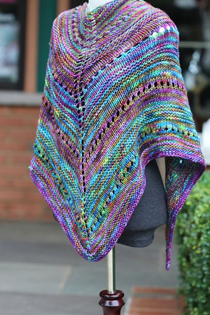 Chelseayarns L A L A Free Pattern Shawl And Patterns