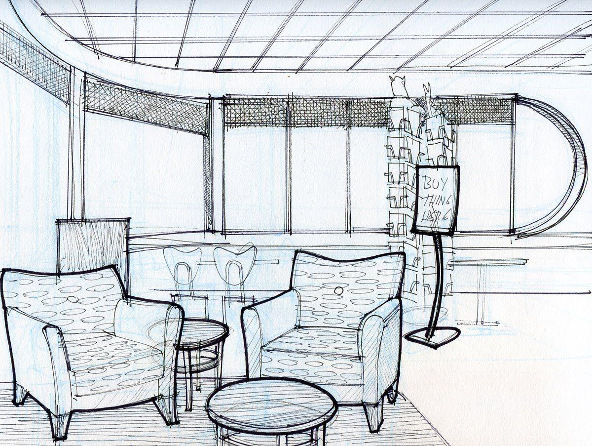 Home Design Sketches Interior