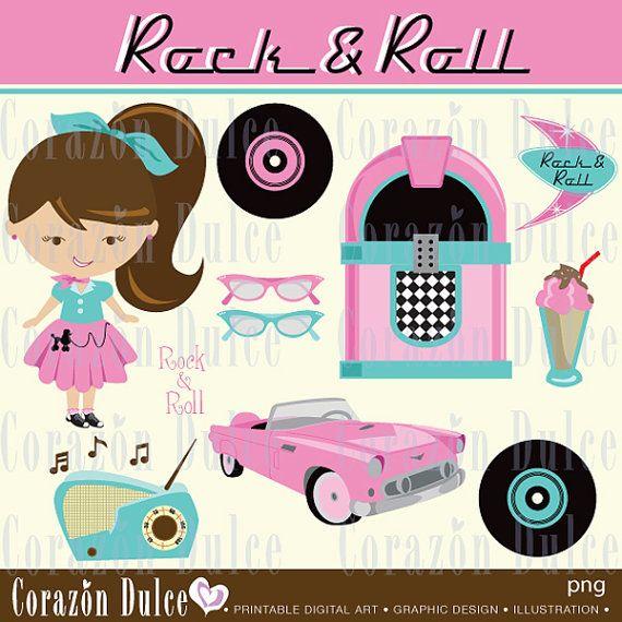 Rock and roll  - Imágenes digitales para uso personal y comercial -DESCARGA AUTOMÁTICA  -