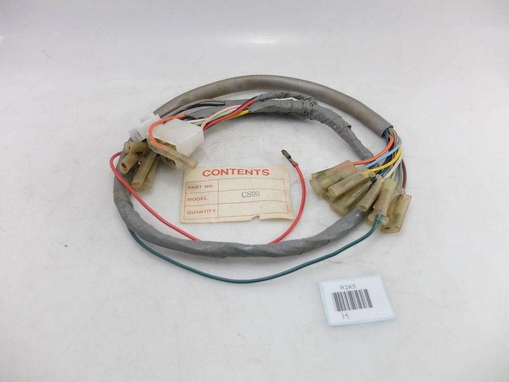 Auto Parts & Accessories Antique, Vintage & Historic Motorcycle Parts Honda 90 CL90 S90 Main Harness Wire NOS Replacement Part