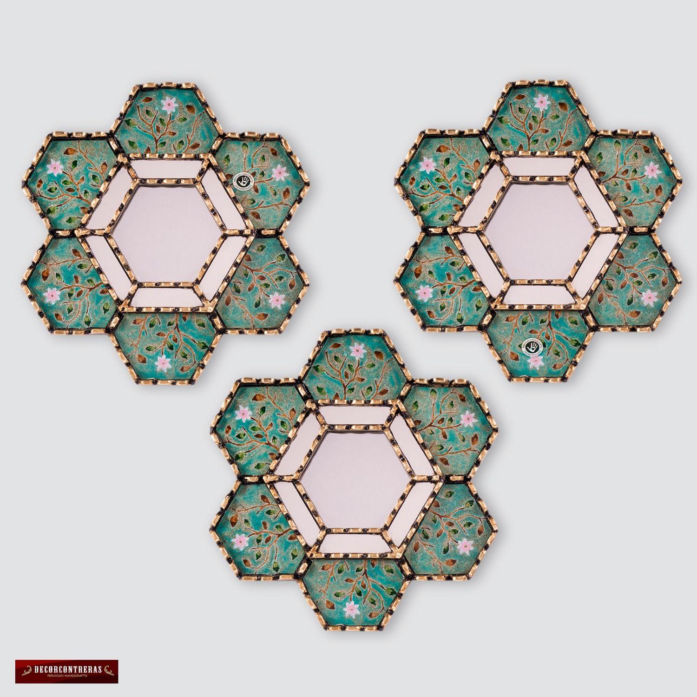 Gold Hexagonal Wall Mirror 11 8 From Peru Gold Accent: Pin On Hexagon Crazy