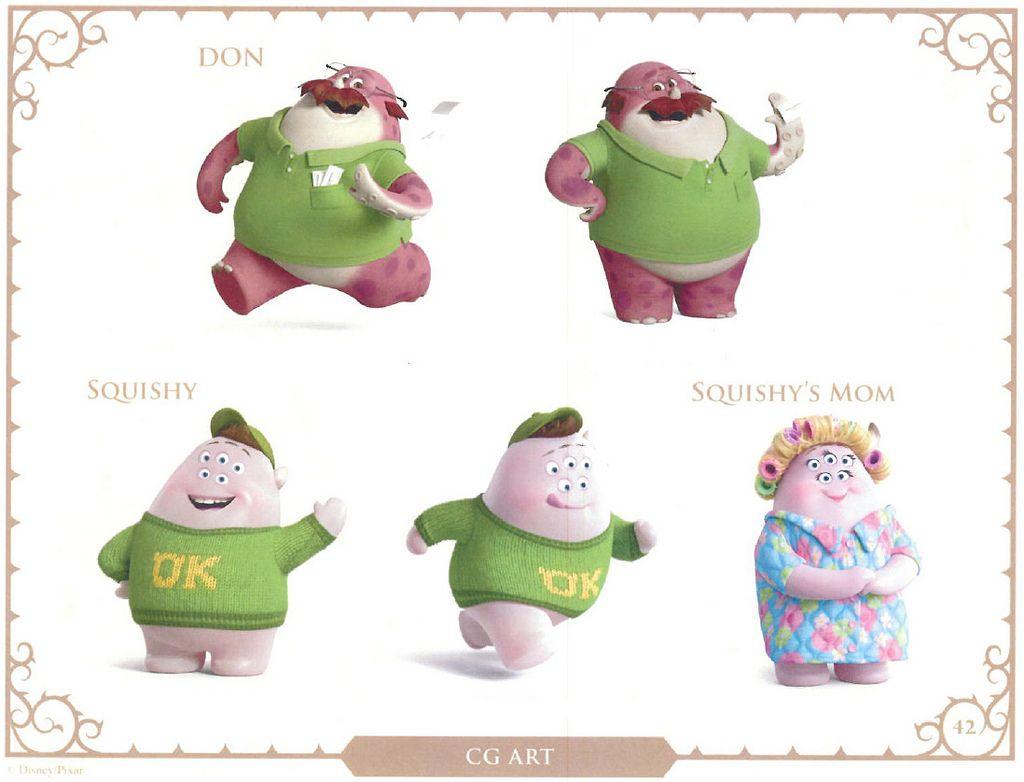 Monsters University Students Monster University Character Design Animation Character Design
