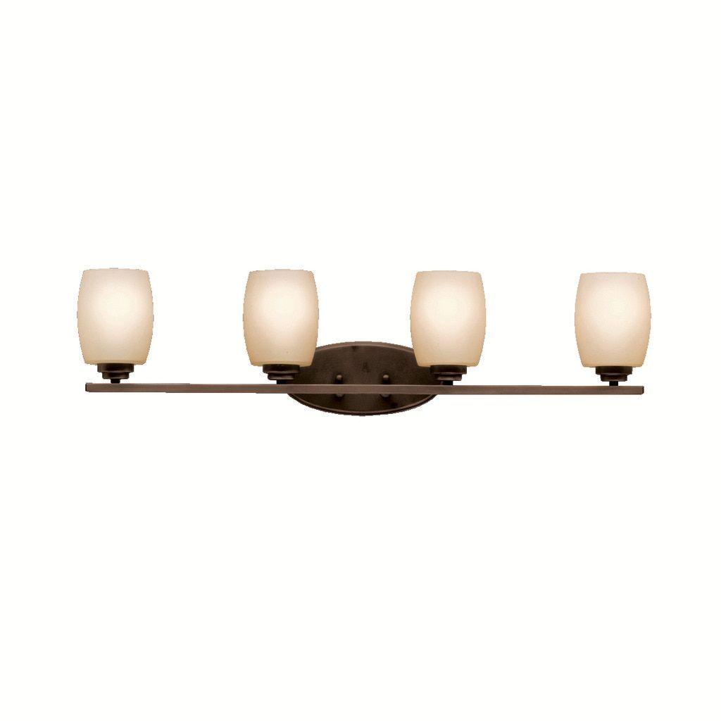 kichler lighting bathroom lighting. kichler lighting eileen collection 4-light olde bronze bath/vanity light, brown ( bathroom