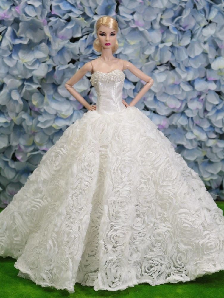 New Wedding Dress For Fashion Royalty By Tdfashion Royalty - Td Wedding Dresses