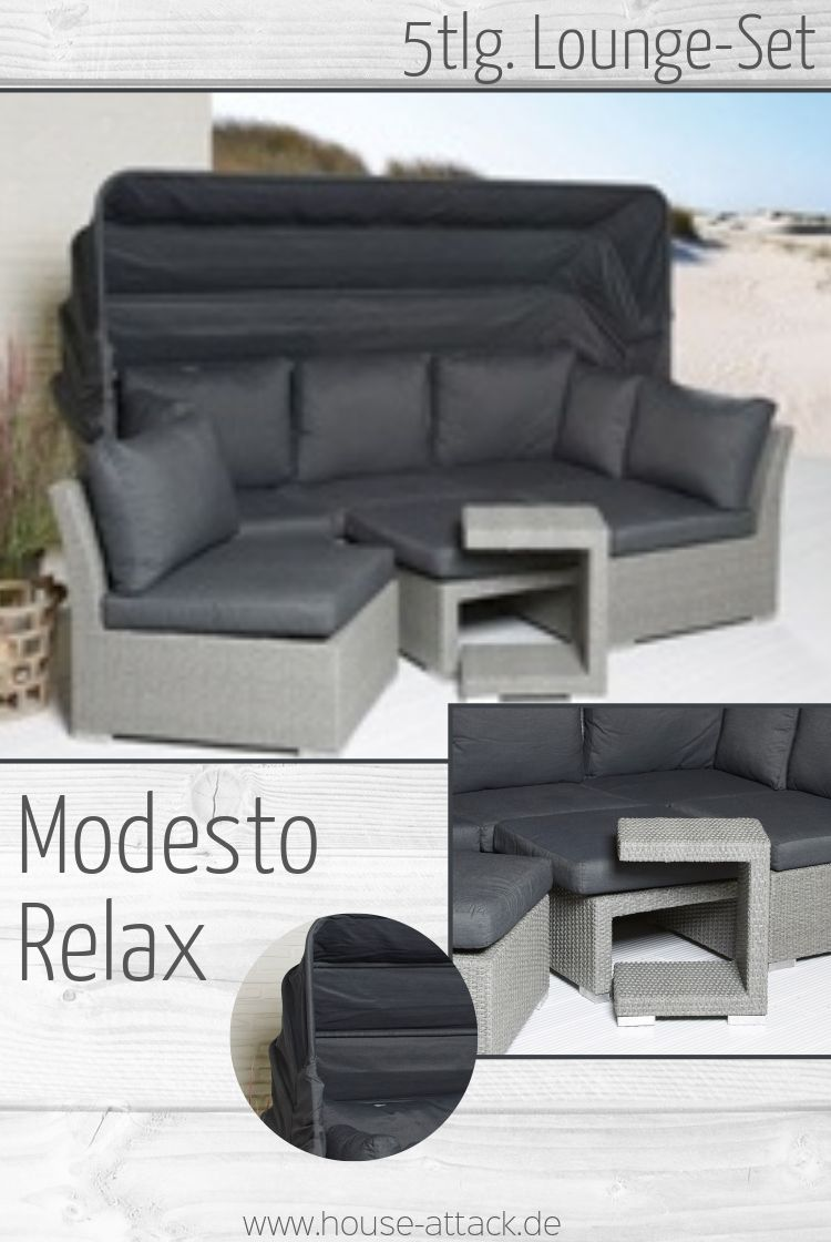 Modesto Relax Strandkorb Lounge Mobel Outdoor Mobel Rattanmobel