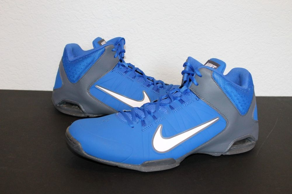 e7418a779b5 New Nike Men s Air Visi Pro IV Basketball Shoes Blue Grey - size 13 ...
