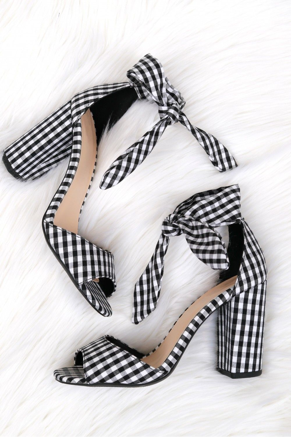f4d82ac59af Classic Bow Heel Gingham in 2019