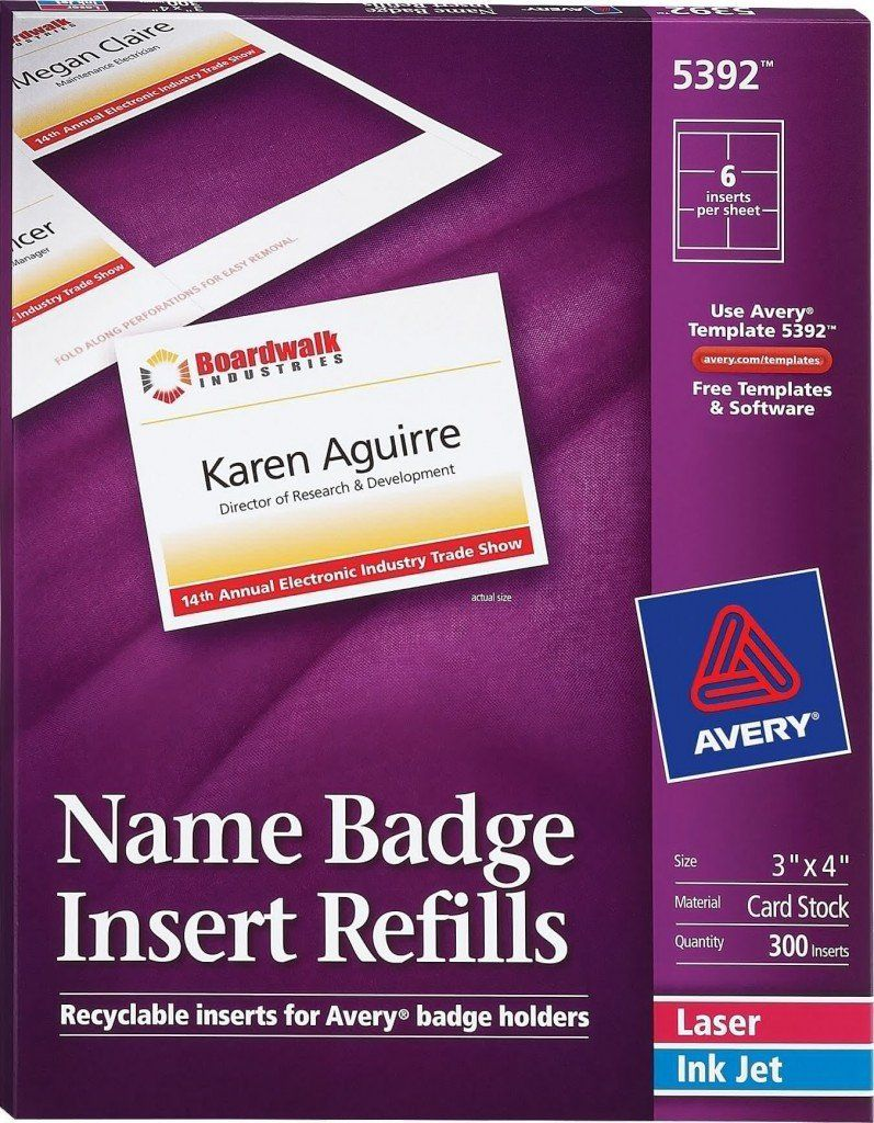 Vertical Name Badge Template from i.pinimg.com