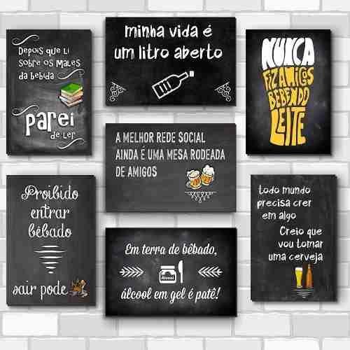Placas Decorativas Mdf Frases Engraçadas De Boteco Bar
