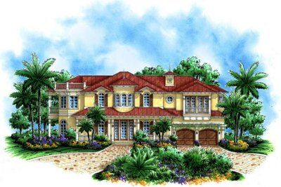 Double Front Porch House Plans Floor Plan Collections Home Ideas Picture Mediterranean Style House Plans Tuscan House Plans Mediterranean House Plans