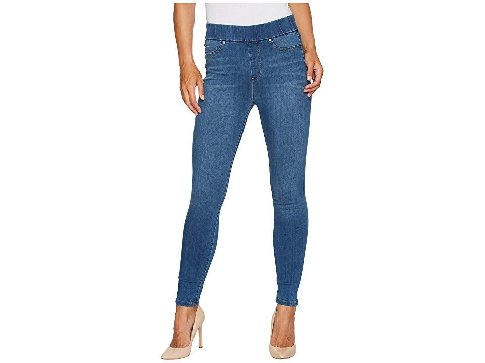 Liverpool Farrah HighWaist PullOn Ankle in Silky Soft Denim in Coronado Mid Coronado Mid Womens Jeans The perfect style to show off your shoes Part of the Love by Liverpo...