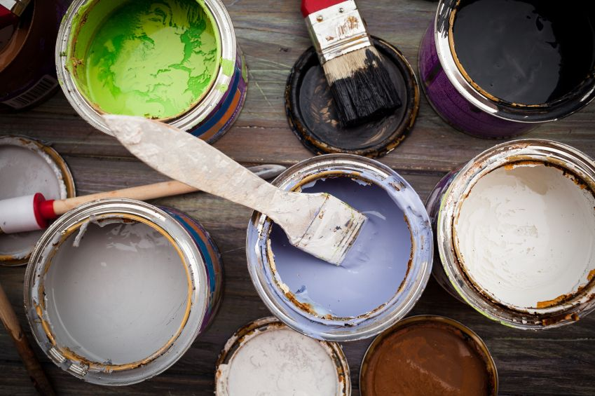 5 Things to Do with Your Leftover Paint How to make