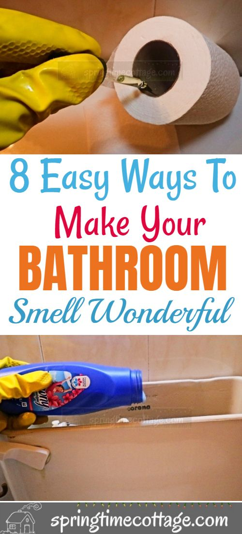 Have you ever wondered how to keep your bathroom smelling fresh and clean? Every time it is used, someone might leave a scent trail. It can either be from urine or from that #2 thing there! To top it off, the bathroom window is so small that it does not take in enough fresh air to make things right in quick time. Well here are 8 ways to make your bathroom smell wonderful. #bathroomsmell #smellhacks #homesmellhacks #householdhacks #tipsandtricks #cleaninghacks #homehacks #lifehacks #hacks