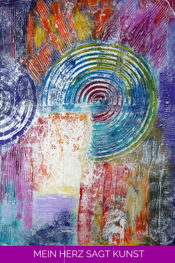 abstrakte bilder mit strukturpaste selbst malen mein herz sagt kunst abstrakt acrylbilder ideen in acryl malerei