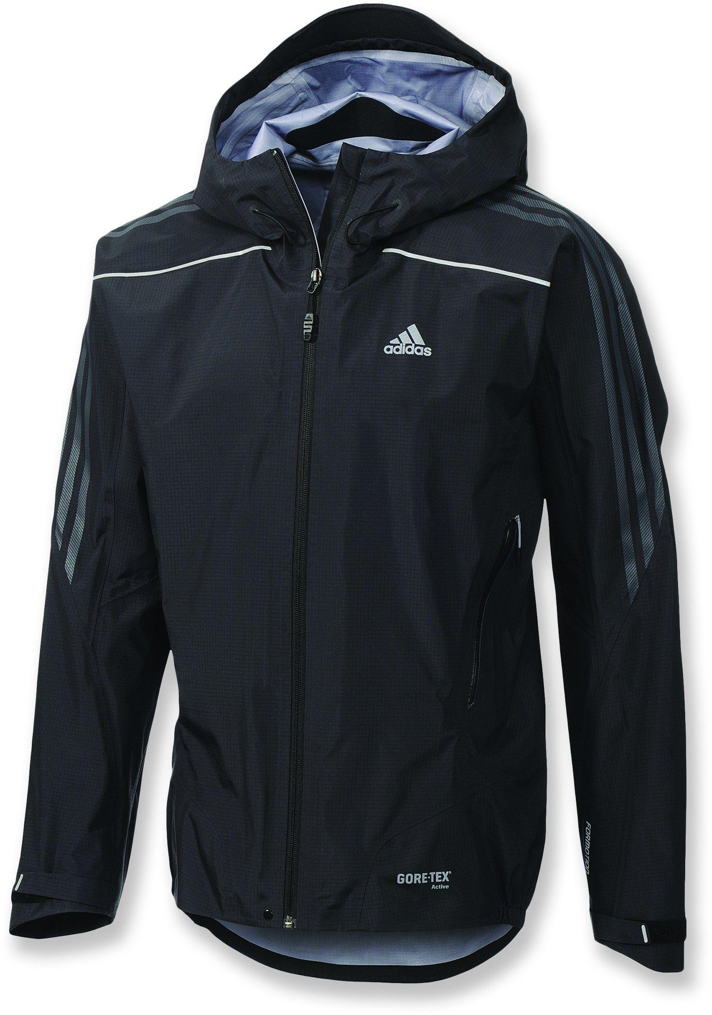Adidas Male Terrex Gore Tex Active Shell Jacket Men's