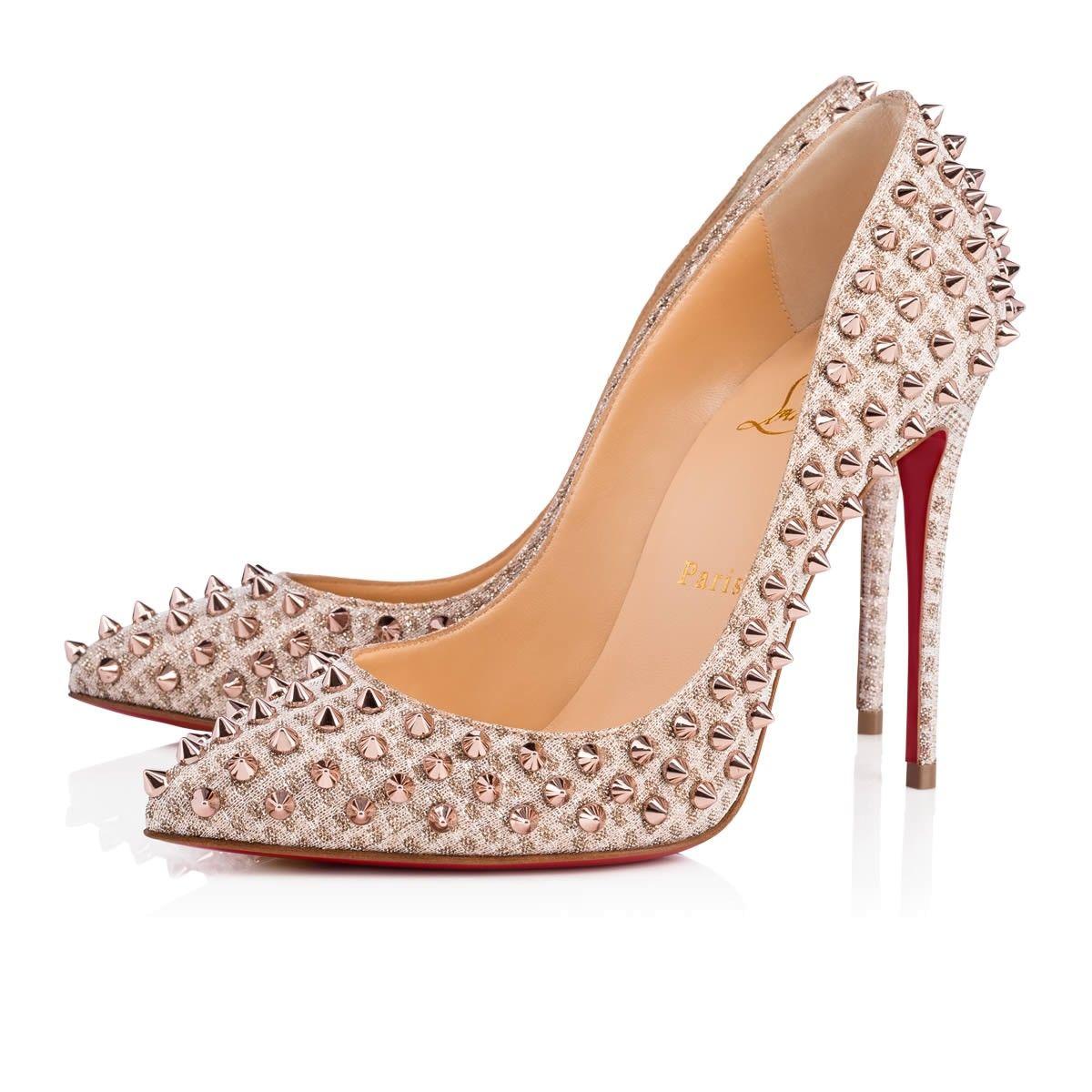 14f6e26e035 CHRISTIAN LOUBOUTIN Follies Spikes. #christianlouboutin #shoes ...