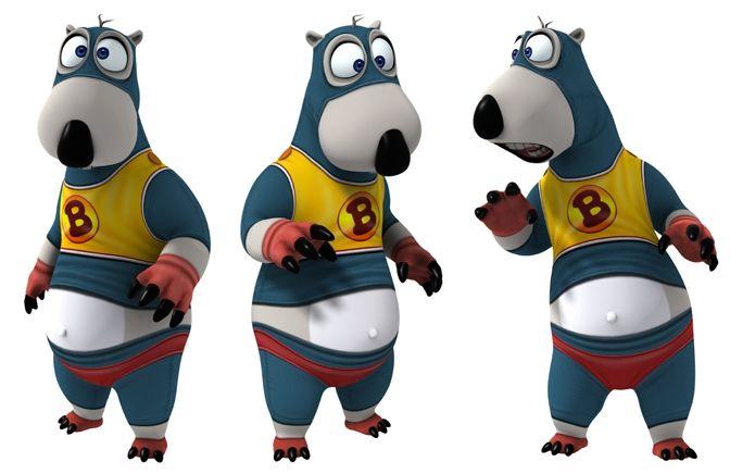 Super Bernard Bear