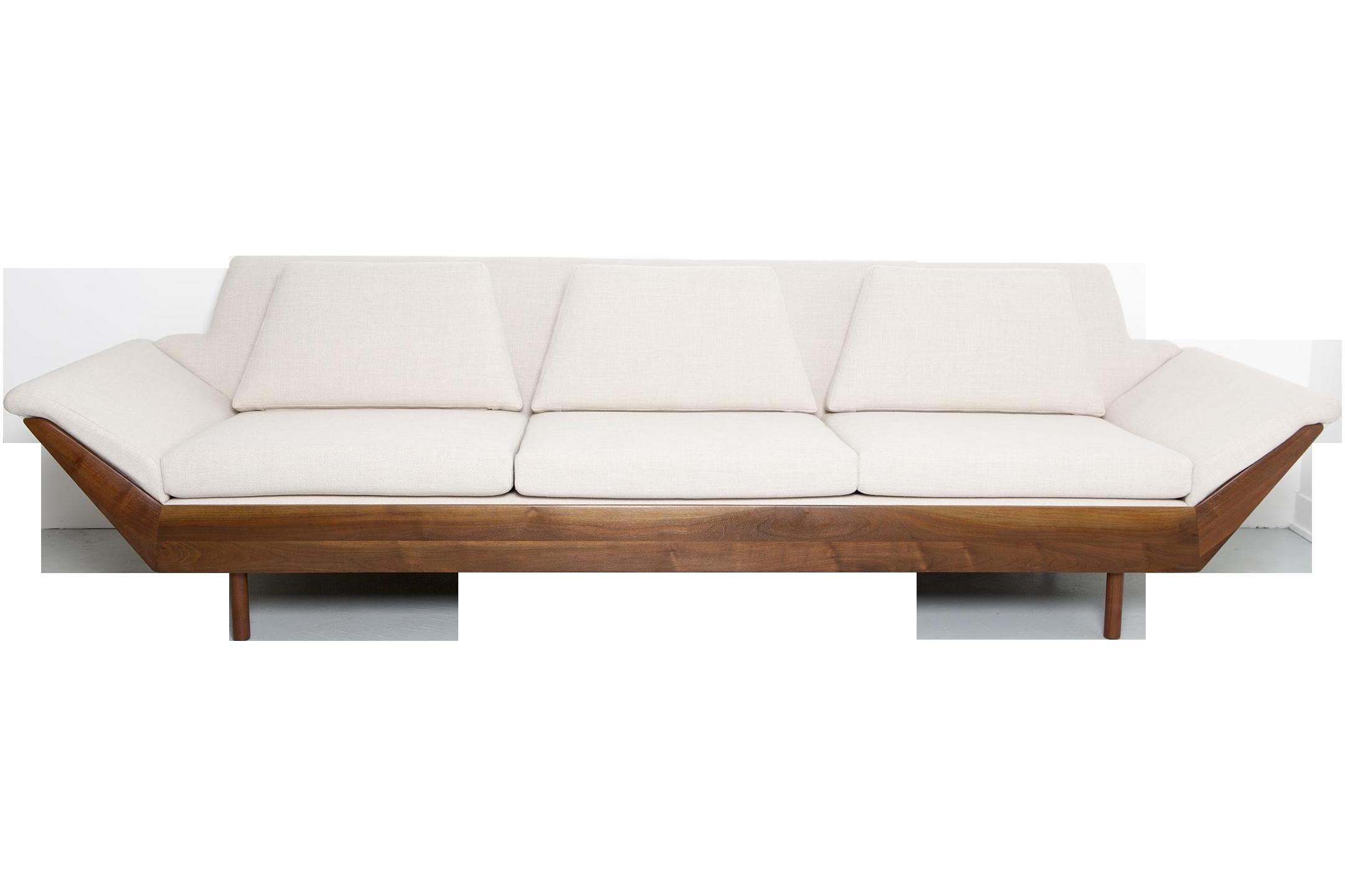 This is a beautiful thunderbird sofa by Flexsteel U S A c 1950s