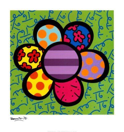 Atividades de Artes - Romero Britto  3c5332248b654