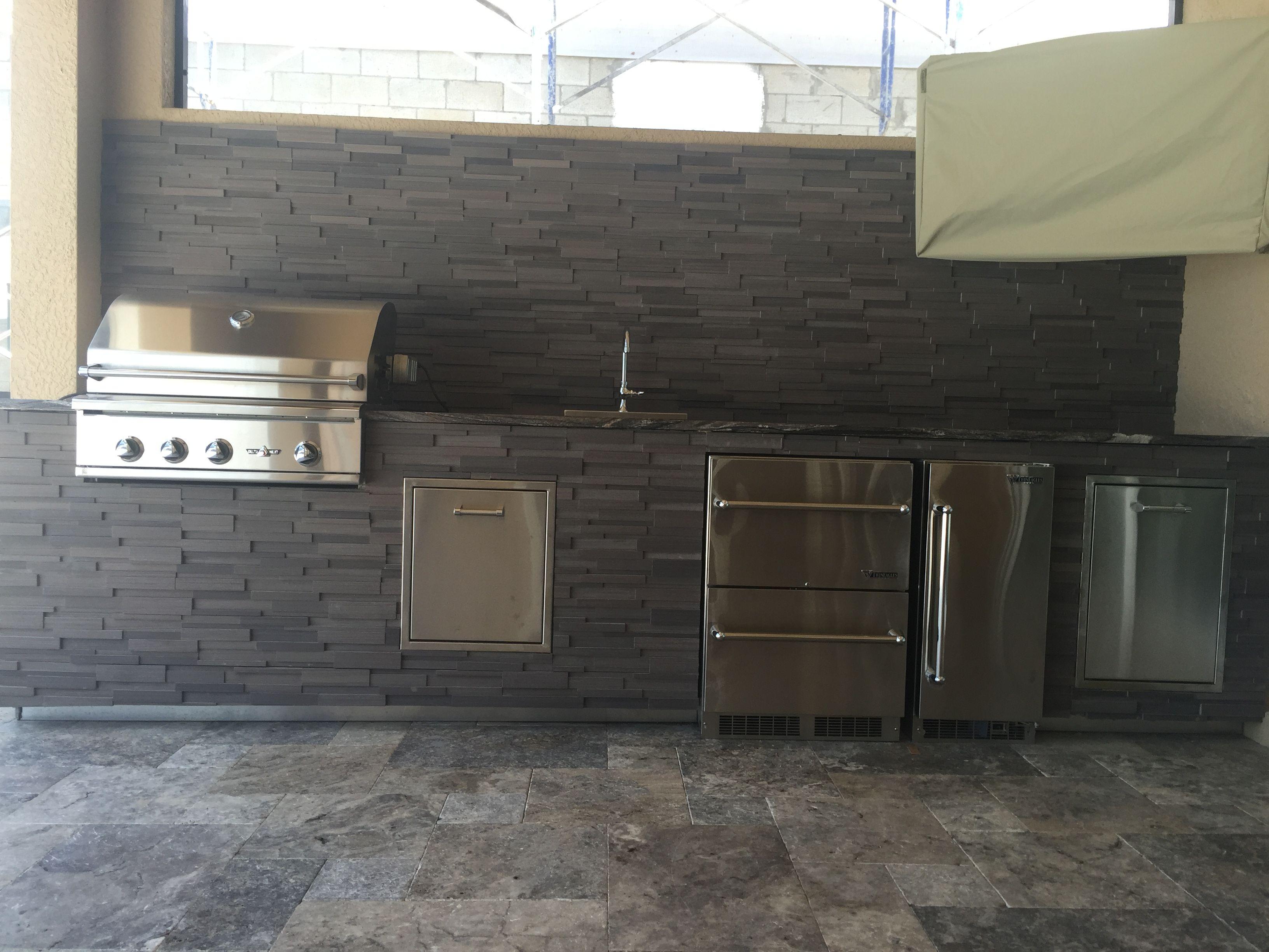 Custom Outdoor Kitchen Custom backyard, Outdoor kitchen