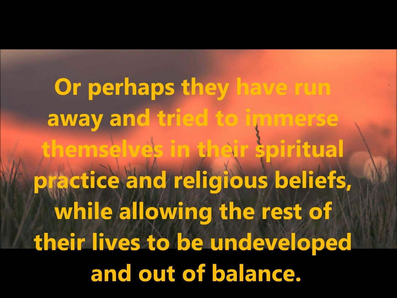 "Pro-Active ""Spirituality"": The 4 Pillars Of Your Life. Marshall Vian Sum..."