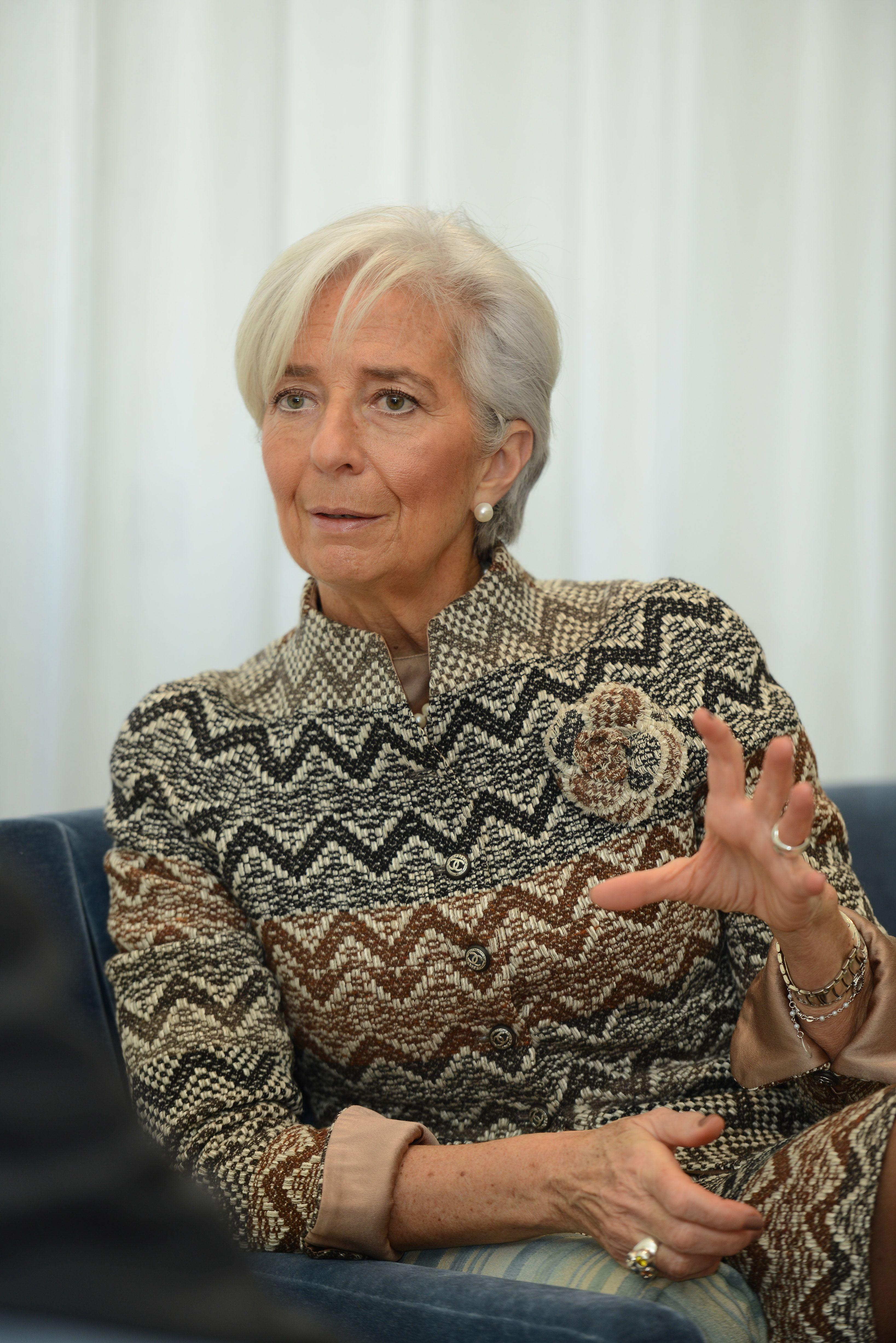 크리스틴 라가르드 국제통화기금(IMF) 총재 Christine Lagarde