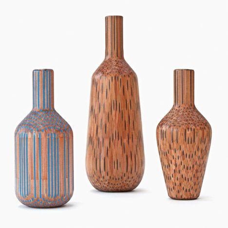 Molinos Tuomas Markunpoika lápices de colores para crear jarrones Amalgamated