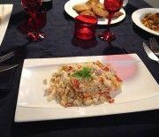 Couscous con verdure e pesce spada