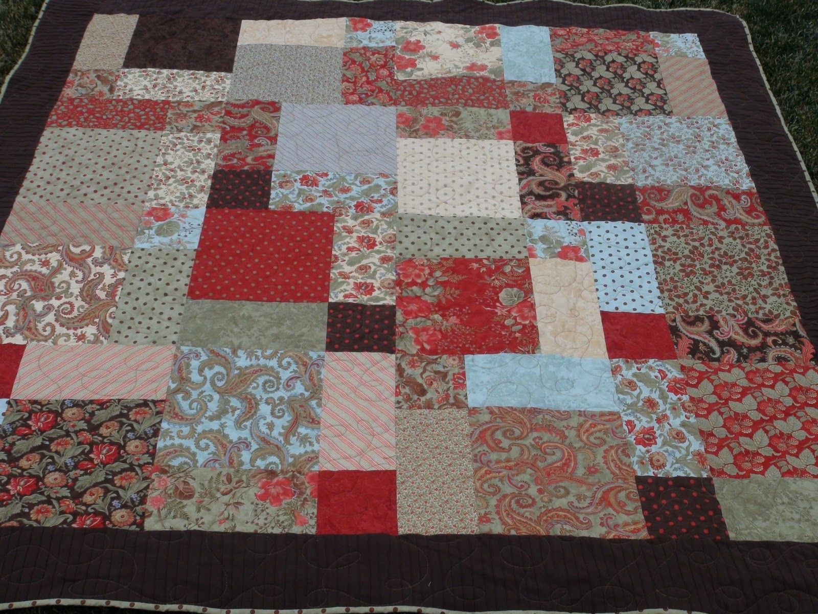Layer Cake Quilt Definition : Disappearing 9 patch with a layer cake. Love! Quilts ...