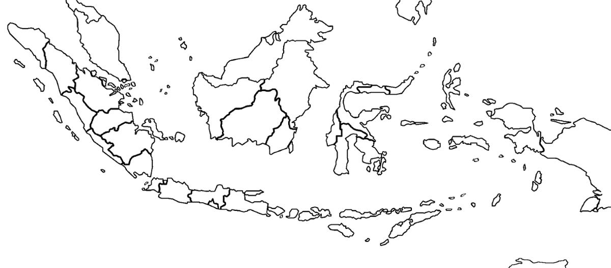 Gambar Peta Indonesia Polos Peta, Gambar, Indonesia