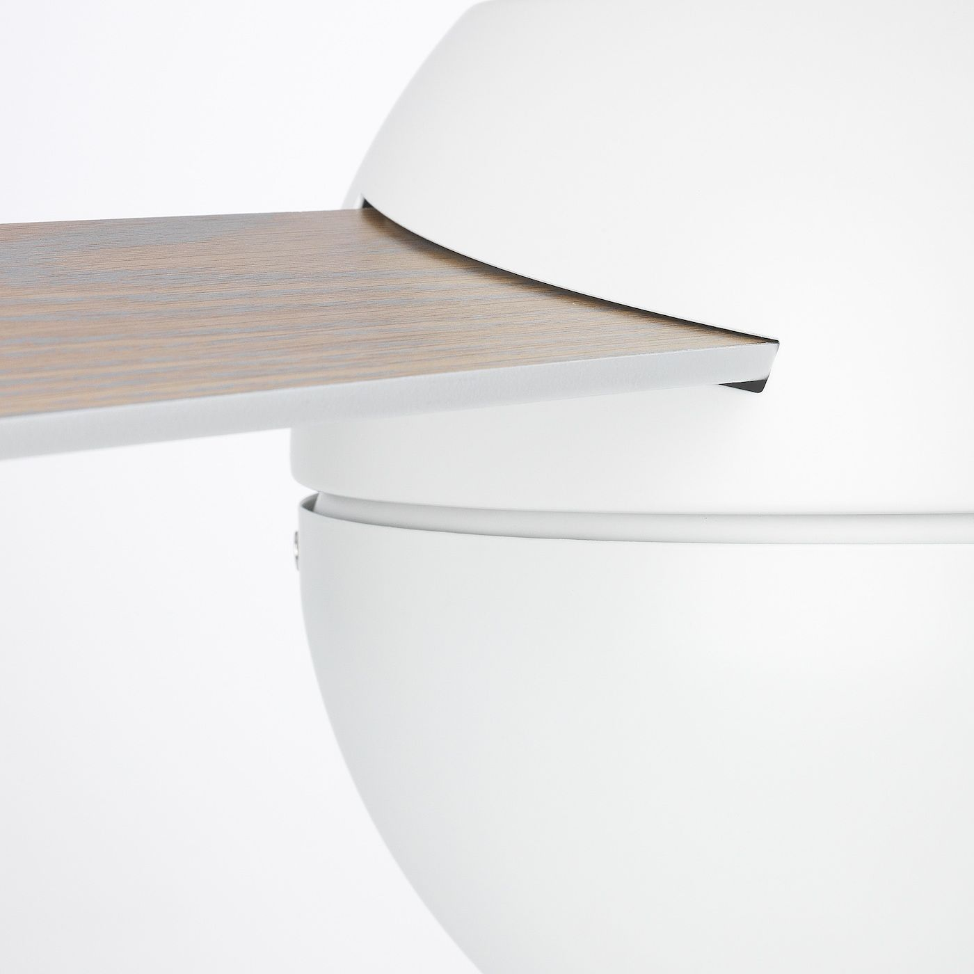 Ikea Stormvind 3 Blade Ceiling Fan With Light In 2020 Ceiling
