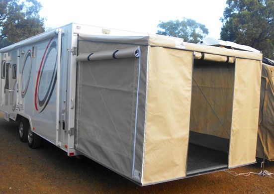 Tailgate Room By Valley Canvas Cargo Trailer Conversion Cargo Trailer Camper Enclosed Trailer Camper