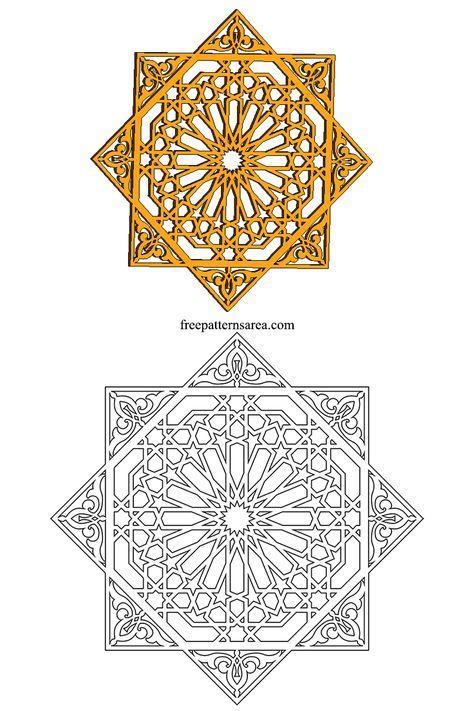 Geometric Islamic Ornament Art Vector Patterns Freepatternsarea Islamic Art Pattern Islamic Art Pattern Art
