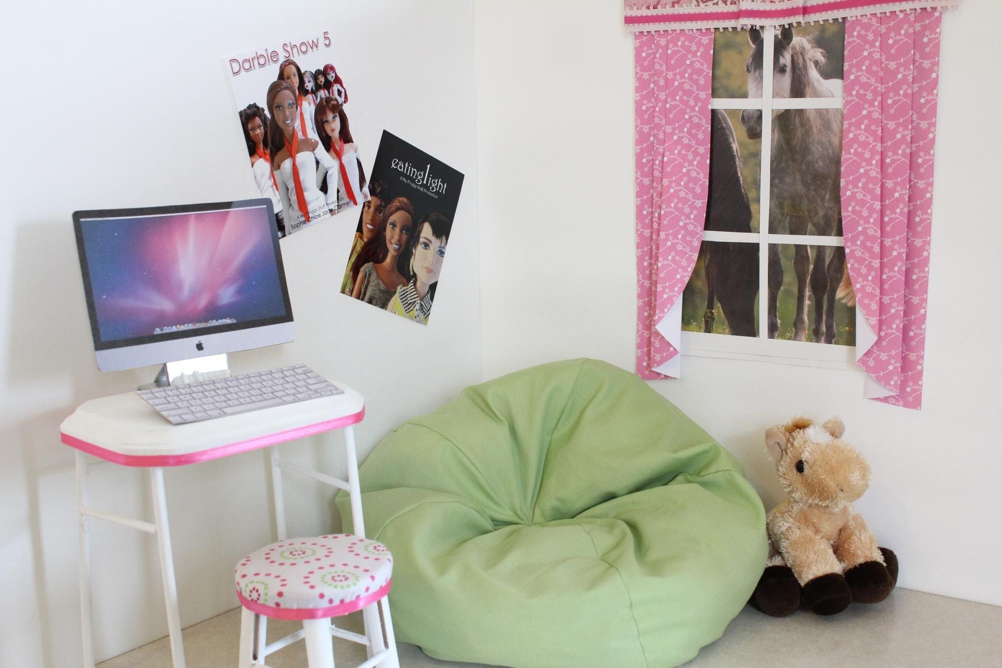 Barbie Bean Bag Chair Pier One Rooster How To Make A Doll Beanbag This Woman Is Amazing I Wish Could Hang Out With Her